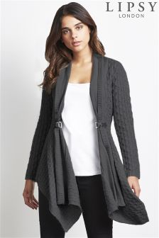 Lipsy Double Buckle Cardigan
