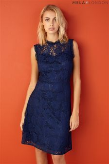 Mela Loves London Lace High Sweetheart Dress