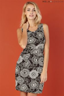 Mela Loves London Circular Tie Back Dress