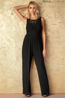 Mela Loves London Lace Sweetheart Jumpsuit