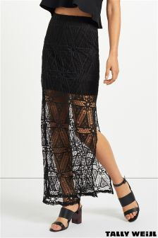 Tally Weijl Long Lace Skirt