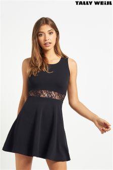 Tally Weijl Knitted Lace Waist Dress