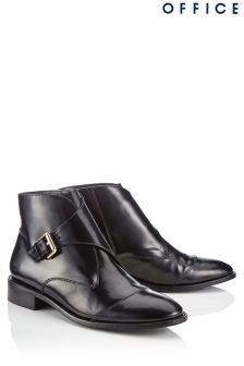 Office Buckle Ankle Boots