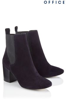 Office Block Heel Chelsea Boot