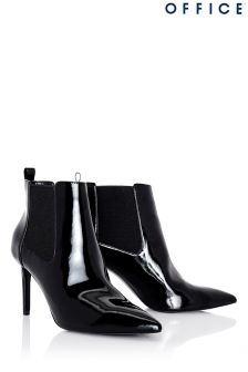 Office Pointed Chelsea Boots