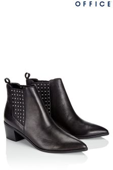Office Stud Chelsea Boots