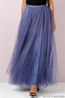Little Mistress Tulle Maxi Skirt