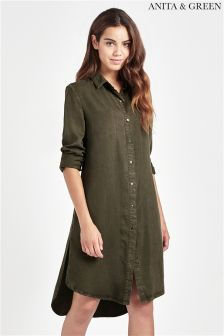 Anita & Green Embroidered Shirt