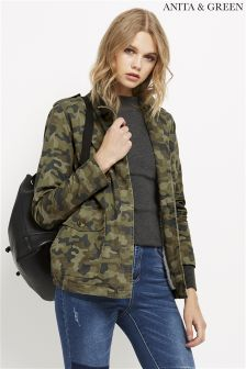 Anita & Green Camo Jacket