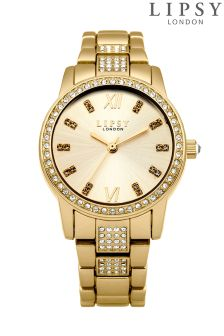 Lipsy Diamonte Strap Bracelet Watch