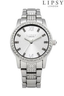 Lipsy Diamonte Strap Bracelet Watch