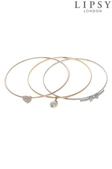 Lipsy Swarovski Bangle Set