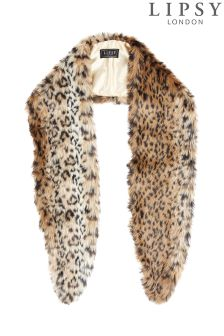 Lipsy Animal Faux Fur Stole