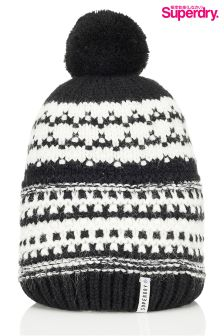 Superdry Pattern Bobble Hat