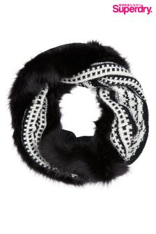 Superdry Faux Fur Snood