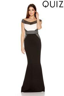 Quiz Fishtail Maxi Dress