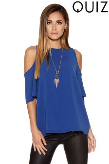 Quiz Cold Shoulder Top