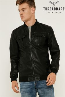 Threadbare PU Jacket