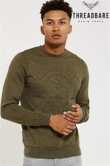Threadbare Sweatshirt With Embossed Logo