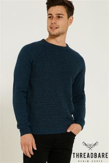 Threadbare Crew Neck Knitwear