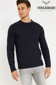 Threadbare Crew Neck Fashion Jumper