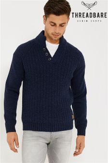 Threadbare Raglan Knit Jumper