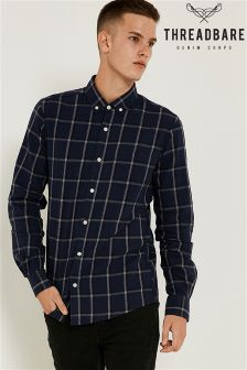 Threadbare Long Sleeved Check Shirt