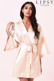 Lipsy Lace Robe