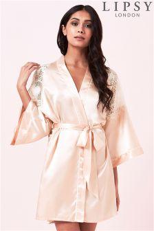Lipsy Lace Robe