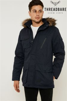 Threadbare Faux Fur Lined Hooded Parka