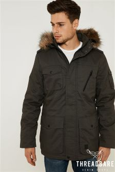 Threadbare Fur Lined Hooded Parka