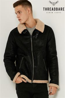 Threadbare Bonded Bomber Jacket