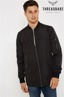 Threadbare Longline Padded Jacket