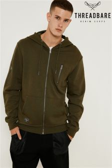 Threadbare Zip Through Hoody