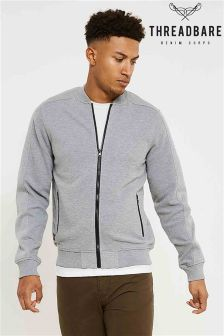 Threadbare Zip Through Bomber