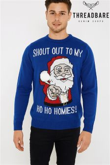 Threadbare Novelty Jumper