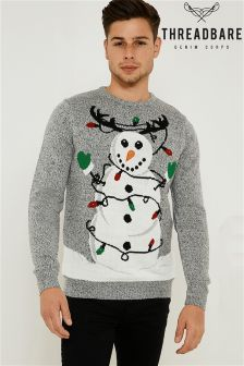 Threadbare Novelty Jumper With Lights