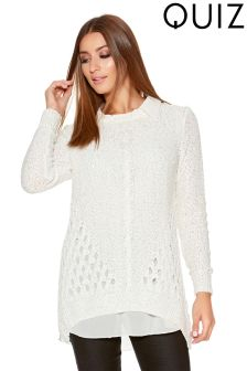 Quiz Sequin Knit Jumper
