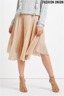 Fashion Union Pleated Skirt