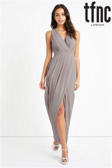 tfnc Maxi Drape Dress
