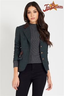 Joe Button Detail Short Jacket