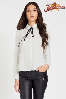 Joe Browns Tie Neck Blouse