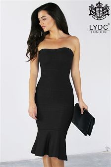 LYDC Bandage Bandeau Dress