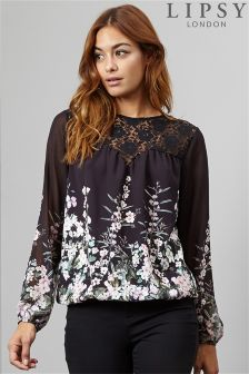 Lipsy Floral Printed Top