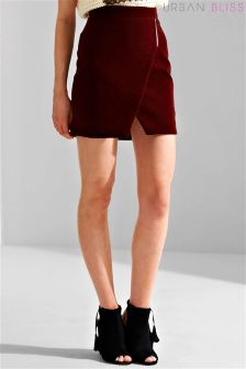 Urban Bliss Quilted Velvet Skirt