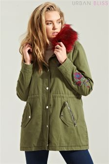 Urban Bliss Embroidered Parka