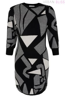 Urban Bliss Jigsaw Jumper Dress
