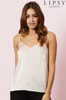 Lipsy Satin Cami Top