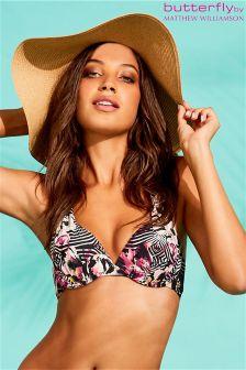 Butterfly By Matthew Williamson Aztec Bikini Top