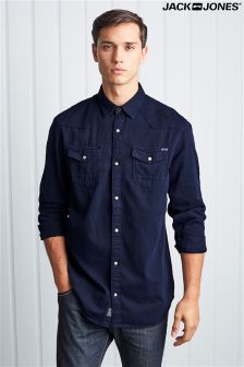 Jack & Jones Shirt Long Sleeve Western Shirt